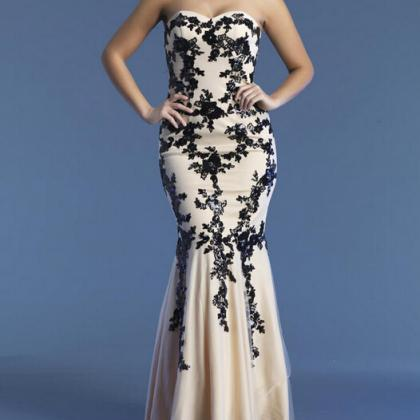 New Arrival Long Prom Dresses Merma..