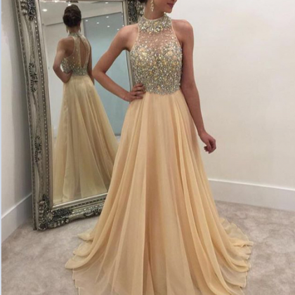 Charming Evening Dress,Beaded Prom ..
