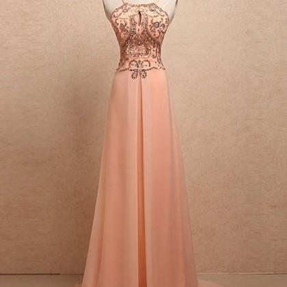 New Arrival Long Prom Dress,Sexy Ba..