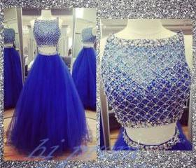 Royal Blue Prom Dres..