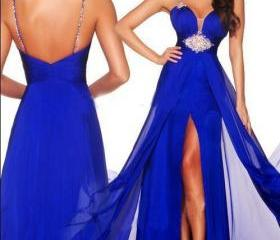 Royal Blue Beading S..