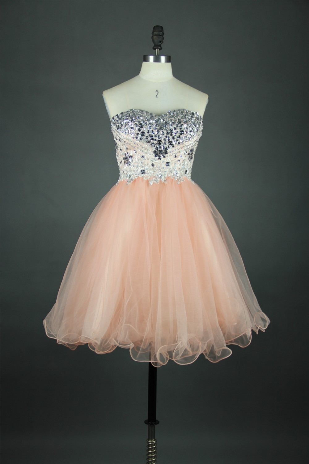 22ef5129dc5 Champagnee Strapless Sweetheart Sequin Short Prom Dress Mini Girl Evening  Gowns for Party