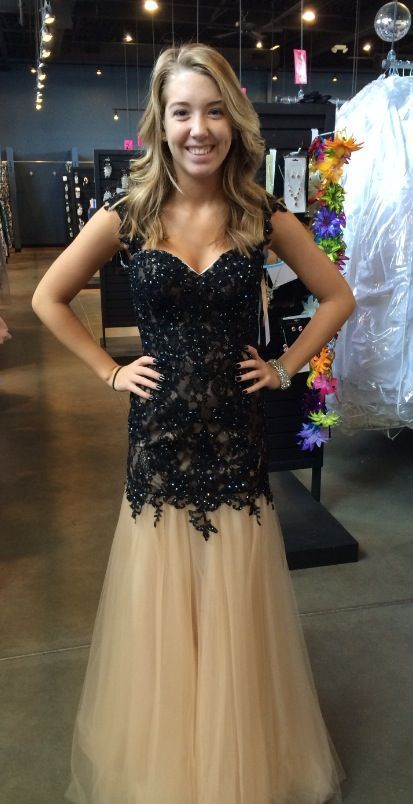 New Arrival Black Long Lace Prom Dresses With Tulle, Backless Evening Party Gowns,Sweetheart Prom Dresses,Beading Party Dress
