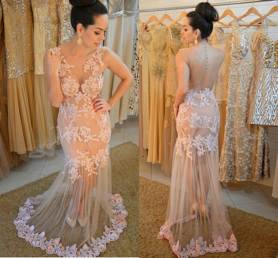 aa99f08f036 Elegant Prom Dress
