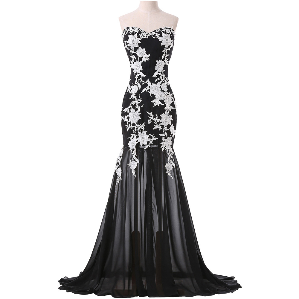 New Arrival Long Evening Dress,Formal Evening Gown,Mermaid Evening ...