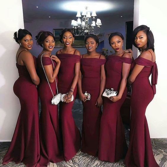 Y Bridesmaid Dress Mermaid Dresses