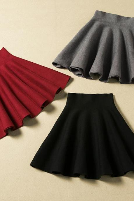 Mini Short Winter Skirt, Nice Skirt 2016, Women Skirts,Charming Women Skirts