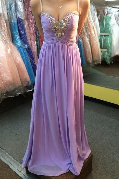 Charming Prom Dress,Long Prom Dress,Formal Evening Dress,Spaghetti Straps Prom Dress,Backless Evening Gown