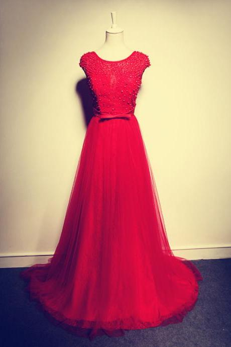 New Arrival A Line Prom Dress,Red Prom Dress,Long Prom Dresses,Beautiful Girl Dress