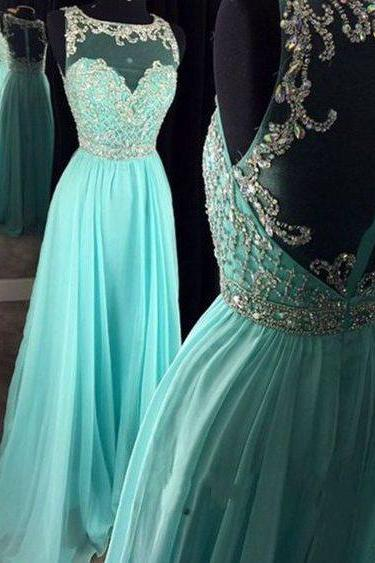 Charming Prom Dress,Long Prom Dresses,Beading Prom Dress,Formal Evening Dress