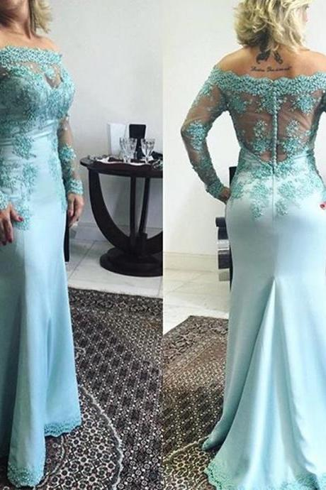 New Arrival Sexy Full Sleeve Evening Dress,Mermaid Evening Dresses,Formal Evening Dress,Long Evening Gown