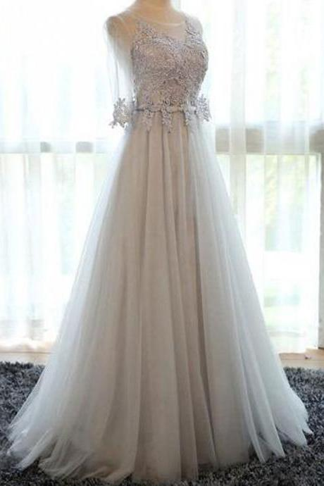 Evening Dress,Evening Dresses,Formal Dress,Tulle Prom Dress,Long Prom Dressess
