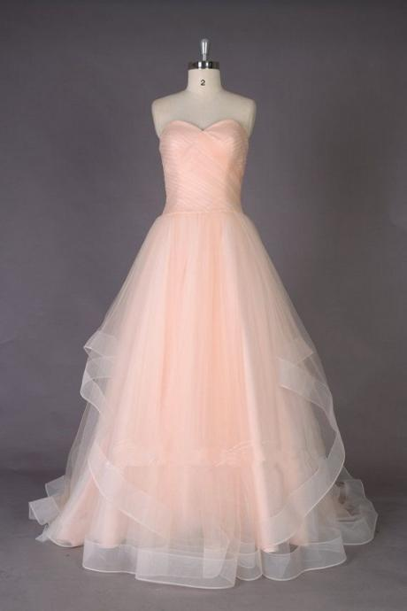 Charming Prom Dress,Long Prom Dresses,Open Back Tulle Evening Dress,Formal Evening Dress,Prom Dresses
