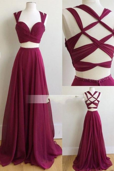New Arrival Prom Dress,Burgundy Prom Dresses,Long Evening Dress,Elegant Prom Dresses,Floor Length Evening Dress