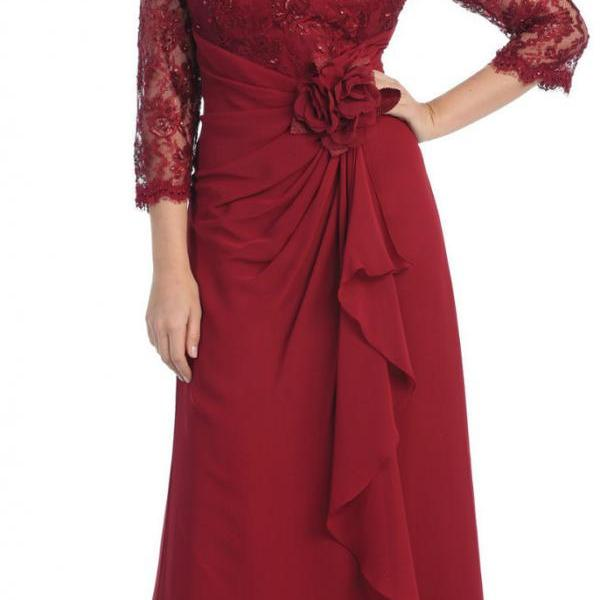 New Arrival Long Sleeve Mother of The Dress,Mother Of The Bride Groom Dress Formal Evening Dress,Charming Formal Women Dress