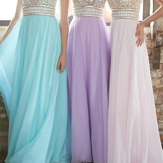Sexy Backless Prom Dress,Chiffon Evening Dresses,Sweetheart Prom Dress,Prom Dresses